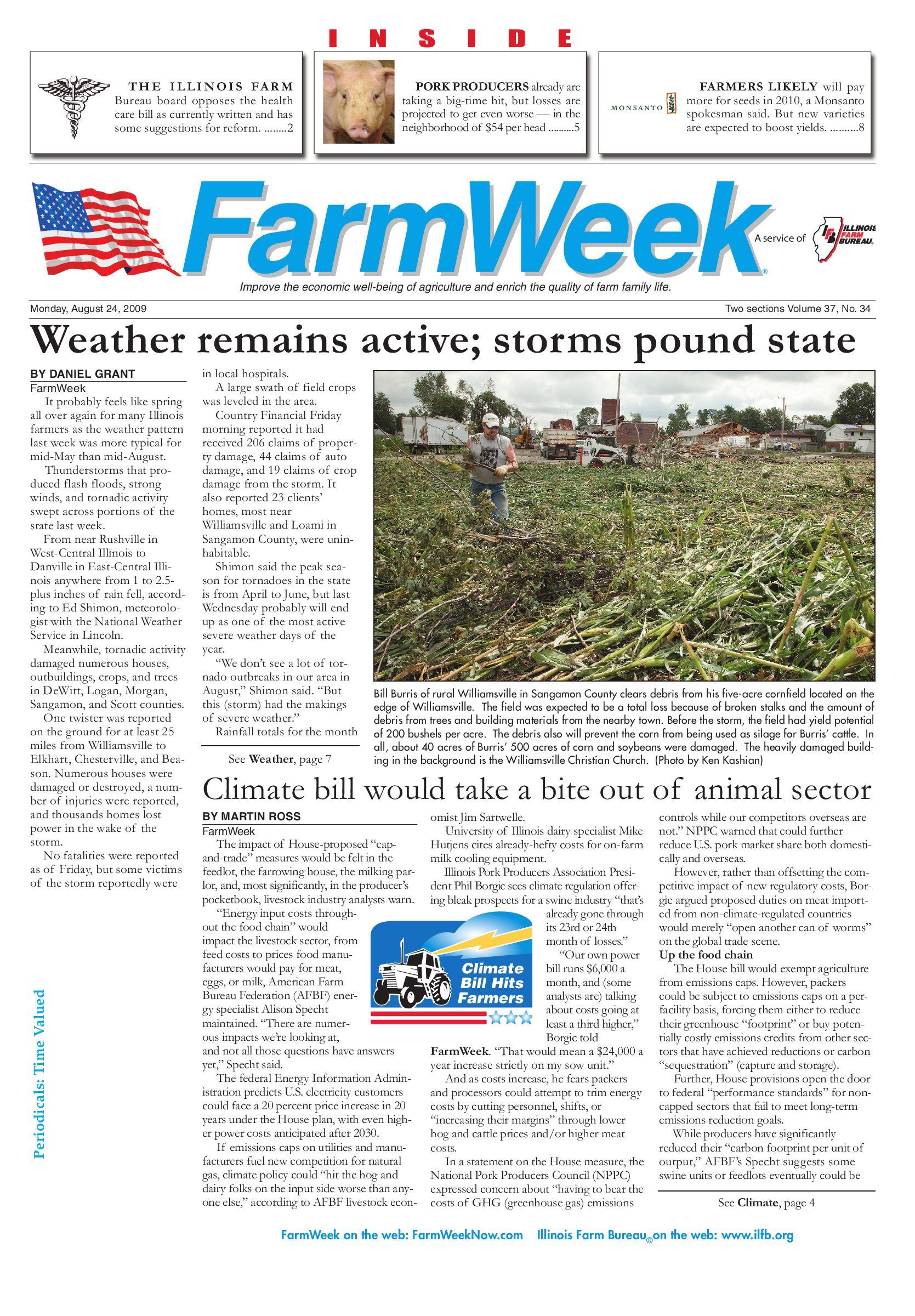 Vernon County Fair 2020 Nevada Recall.Farmweek August 24 2009 By Illinois Farm Bureau Issuu