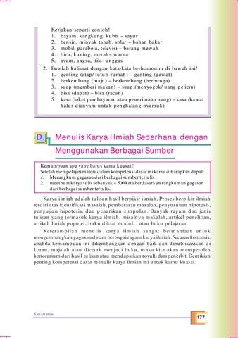 Kelas09 Bahasa Indonesia Tri Sunardi By S Van Selagan Issuu