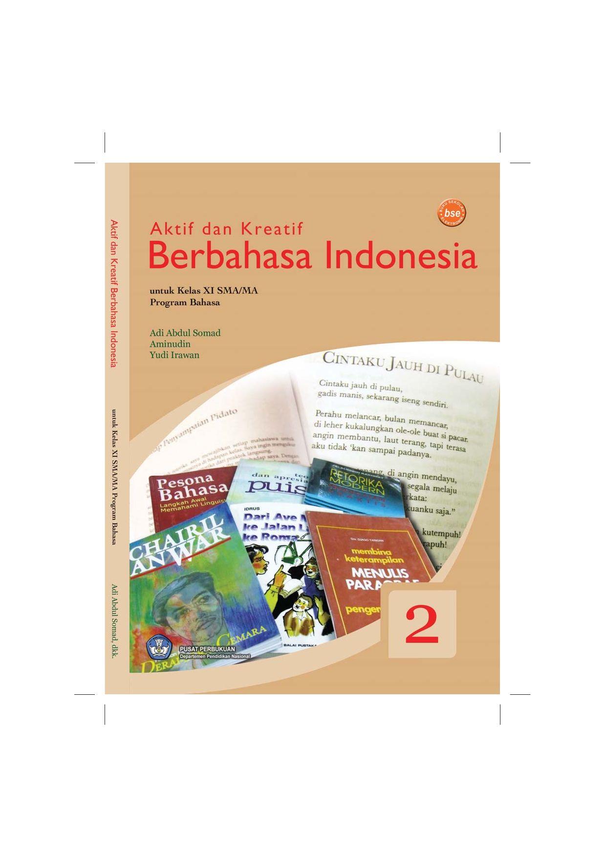 Kelas11 Program Bahasa Aktif Dan Kreatif Berbahasa Indonesia Adi By