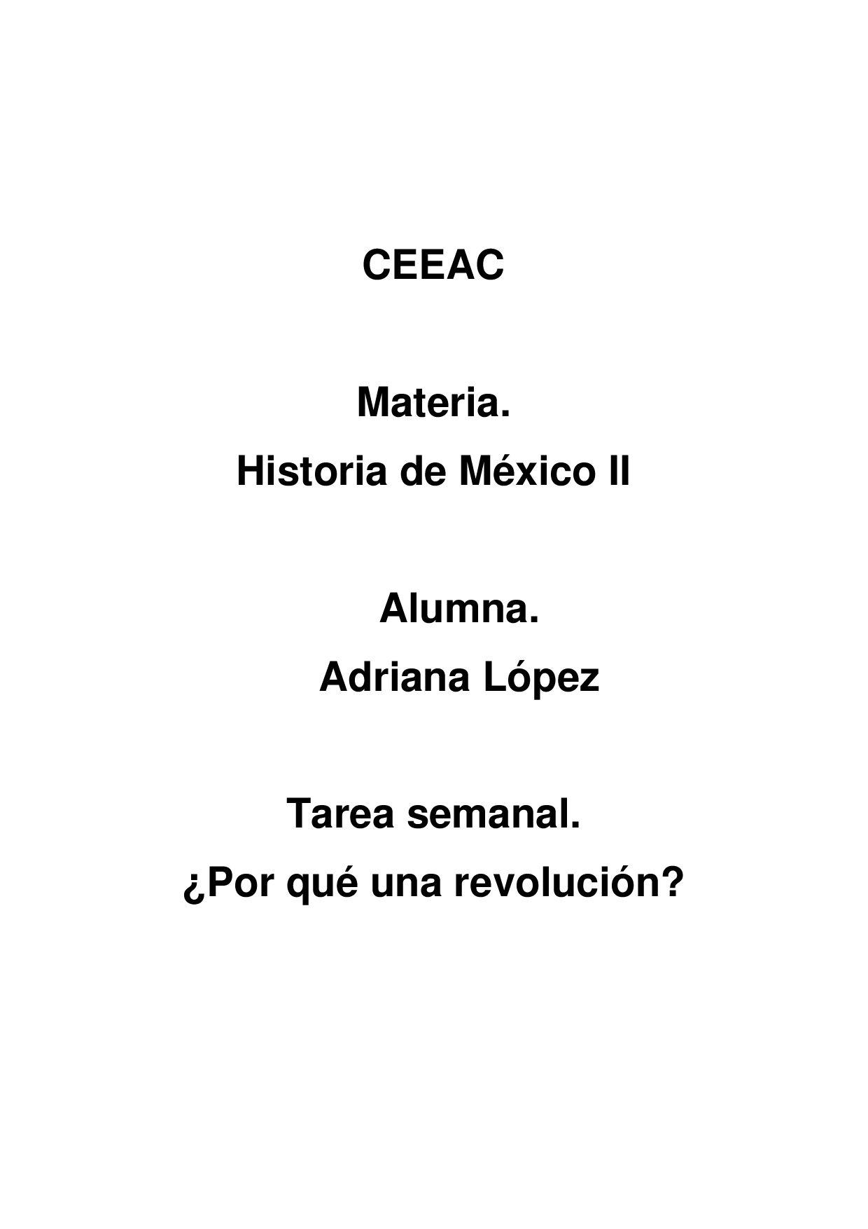 Tarea Semanal by Adriana López - issuu
