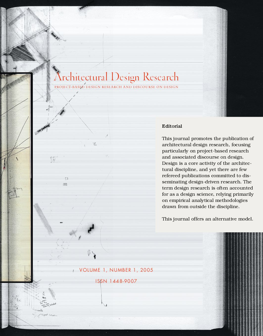Architectural Design Research, Vol 1, No. 1: By Brent Allpress   Issuu