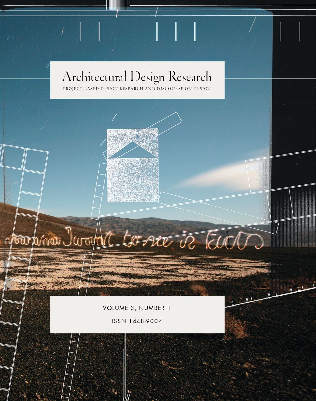 architectural design research vol 3 no 1 by brent