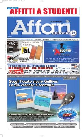 400ac2acb436 Giornale Affari Sabato 22 Agosto 2009 by Editoriale Affari Srl - issuu