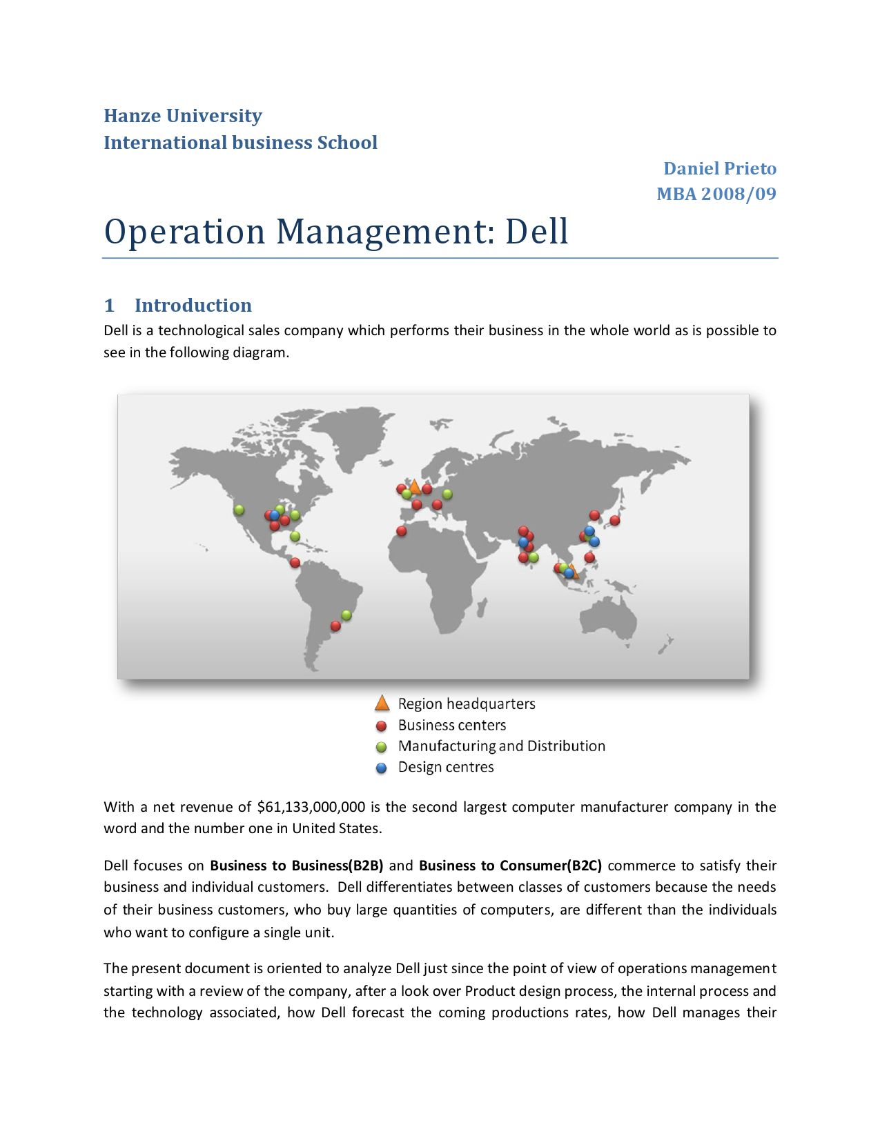 internal operation management