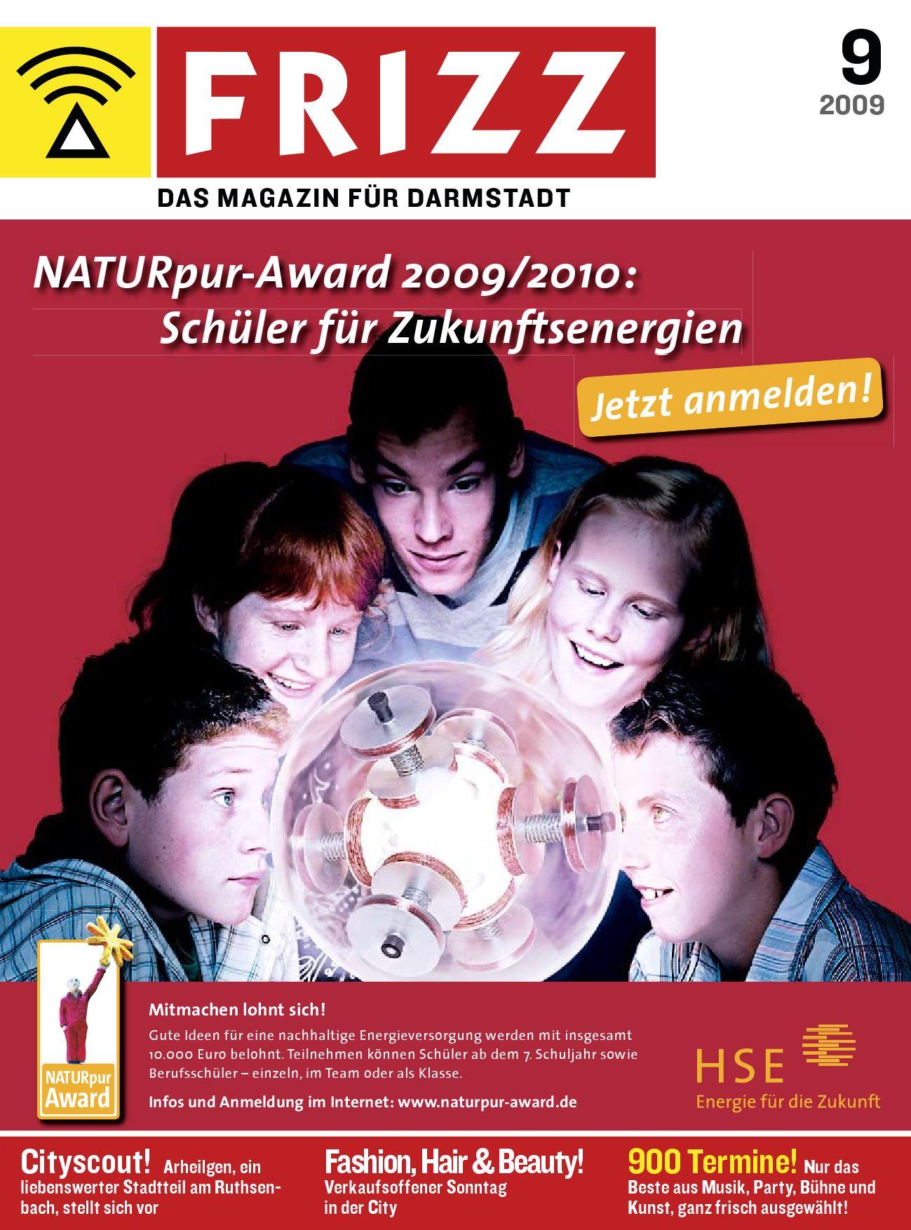 FRIZZ Das Magazin für Darmstadt 09 09 by FRIZZ Media & Marketing Darmstadt issuu