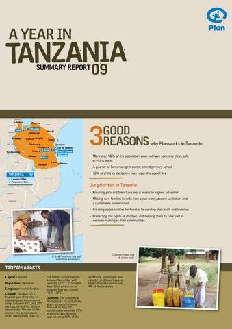 Plan Tanzania Annual Progress Report 2009 by Plan
