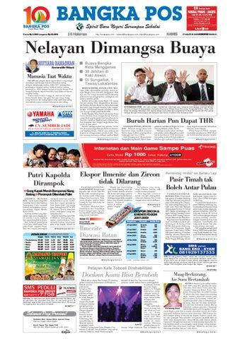 Harian Pagi Bangka Pos Edisi 27 Agustus 2009 by bangka pos - issuu 5e5ae90f28