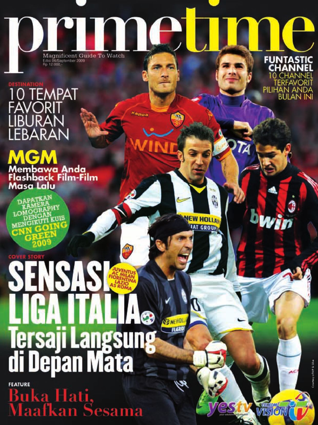 September 2009 Primetime Telkomvision By Indonusa Telemedia Issuu Vocer Belanja Di Garuda Golf Center Rp 4750000