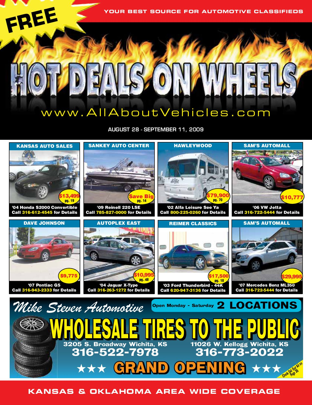 Sams Auto Sales >> Hot Deals on Wheels Aug 28th 2009 by Jennifer Margreiter - Issuu