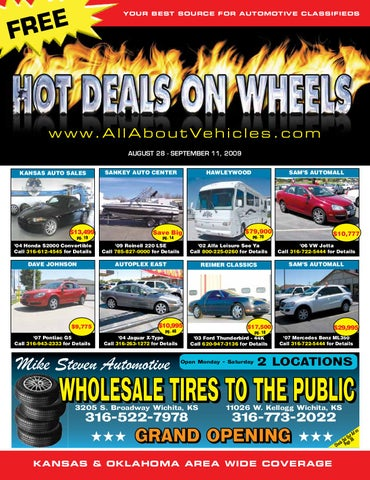 Hot Deals on Wheels Aug 28th 2009 by Jennifer Margreiter - issuu