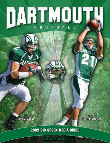 2009 Dartmouth Football Media Sports Guide by Dartmouth Sports Media issuu fc0d4b