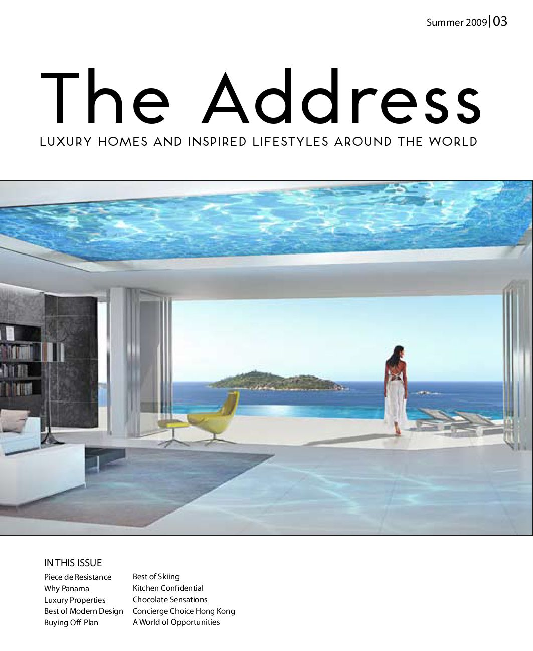 The Address - No3 by Select International CB - issuu