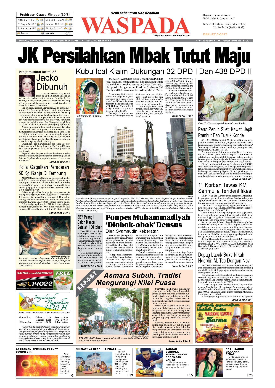 Waspada Minggu 30 Agustus 2009 By Harian Waspada Issuu