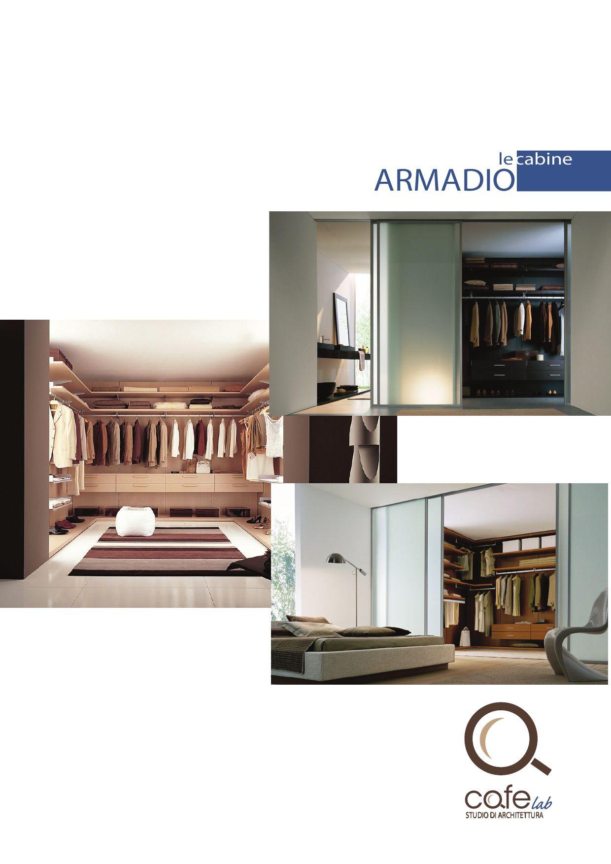 Le cabine armadio by cafelab architettura issuu for Planimetrie e prezzi della cabina di log