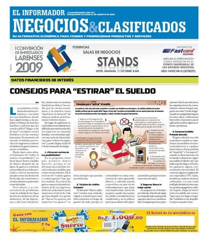 da615f5450 negocios y clasificados 2009.08.31 by El Informador - Diario online ...