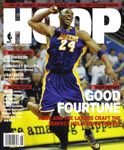 bd9e6c43e75 HOOP July August 2009. HOOP magazine  Kobe Bryant