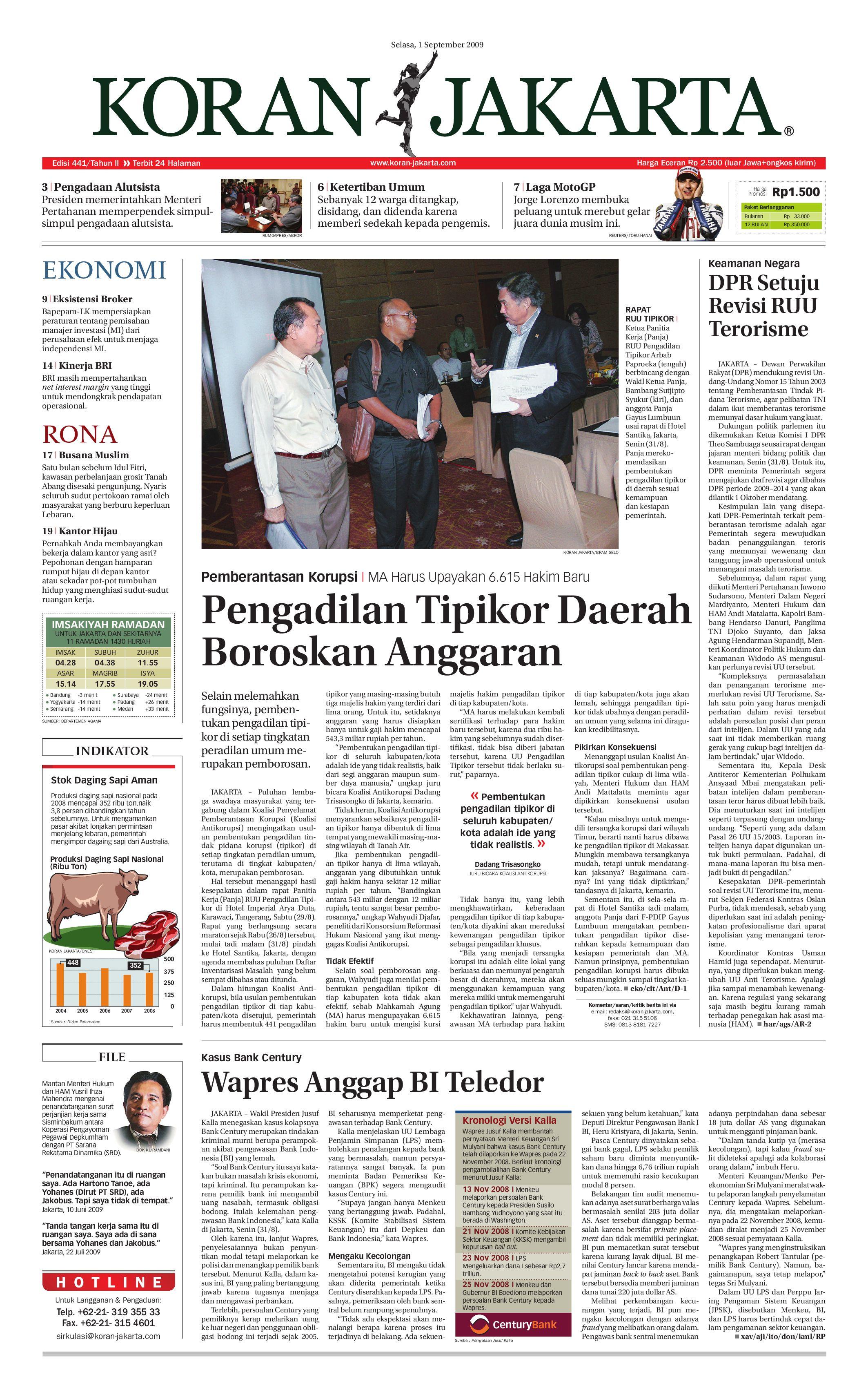 Edisi 441 01 September 2009 By Pt Berita Nusantara Issuu Bri Produk Ukm Bumn Kain Doby Motif Bunga