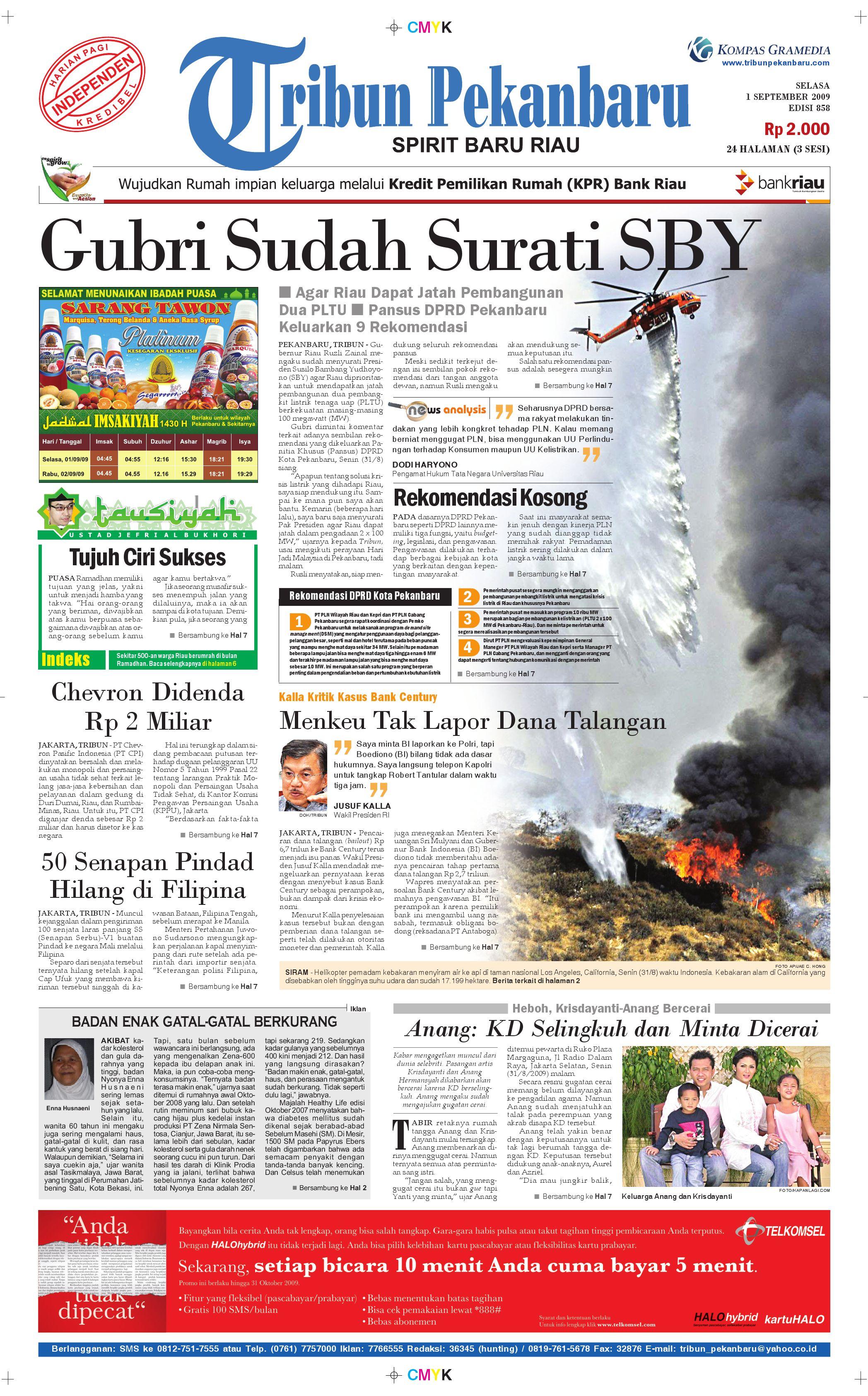 Epaper 01 September 2009 by dino zulfikardi - issuu aba94955af