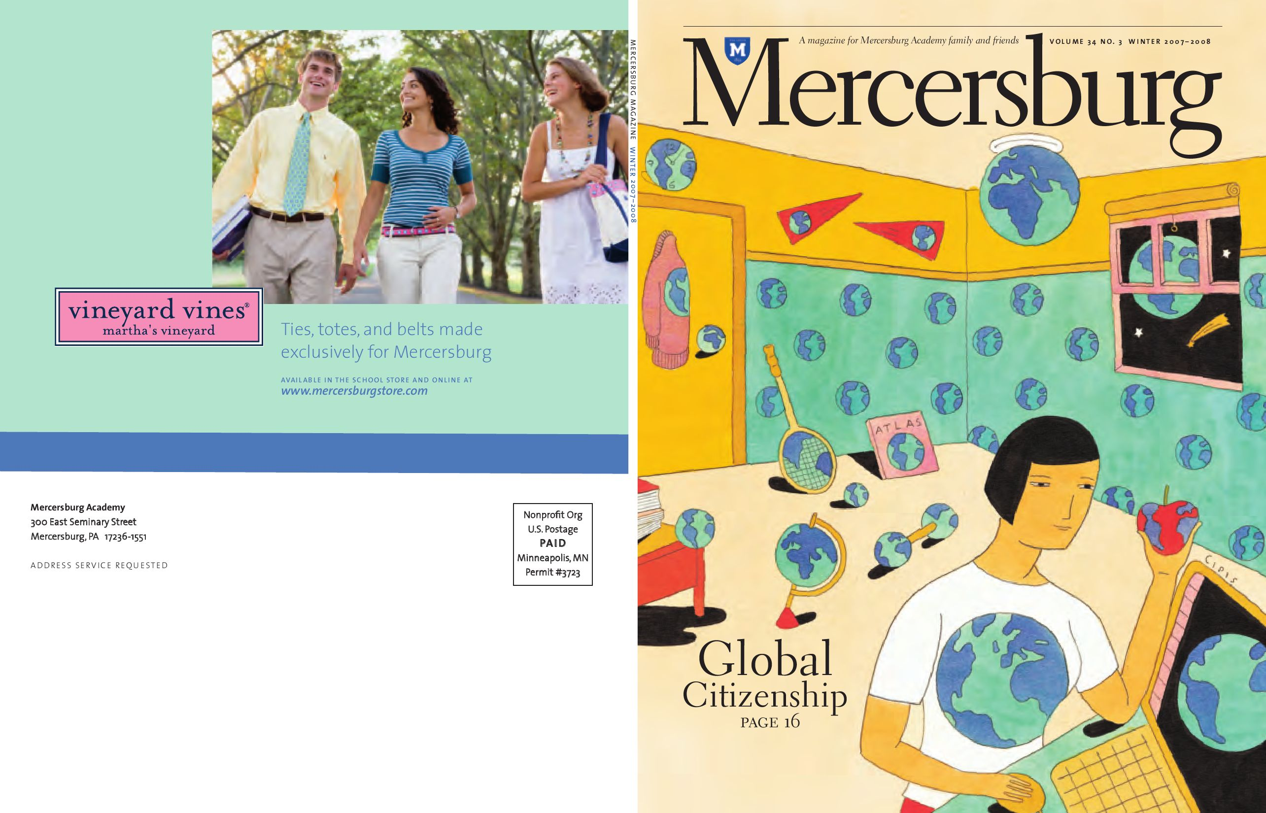 Mercersburg Magazine Fall 2016 By Academy Issuu Parallel Circuits For Kids Thescienceclassroom Electric X3cb Winter 2007 2008