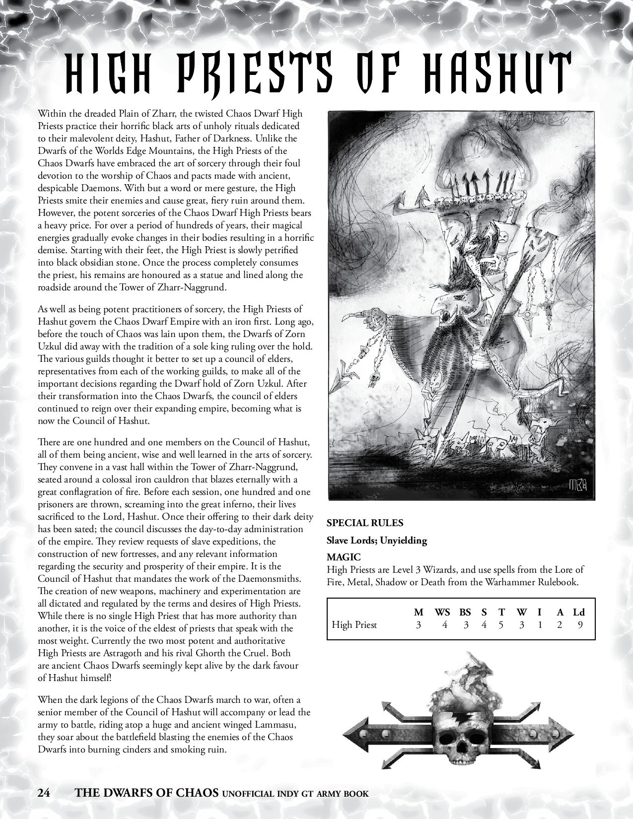 Indy GT Dwarfs of Chaos Army Book by Matthew Birdoff - issuu