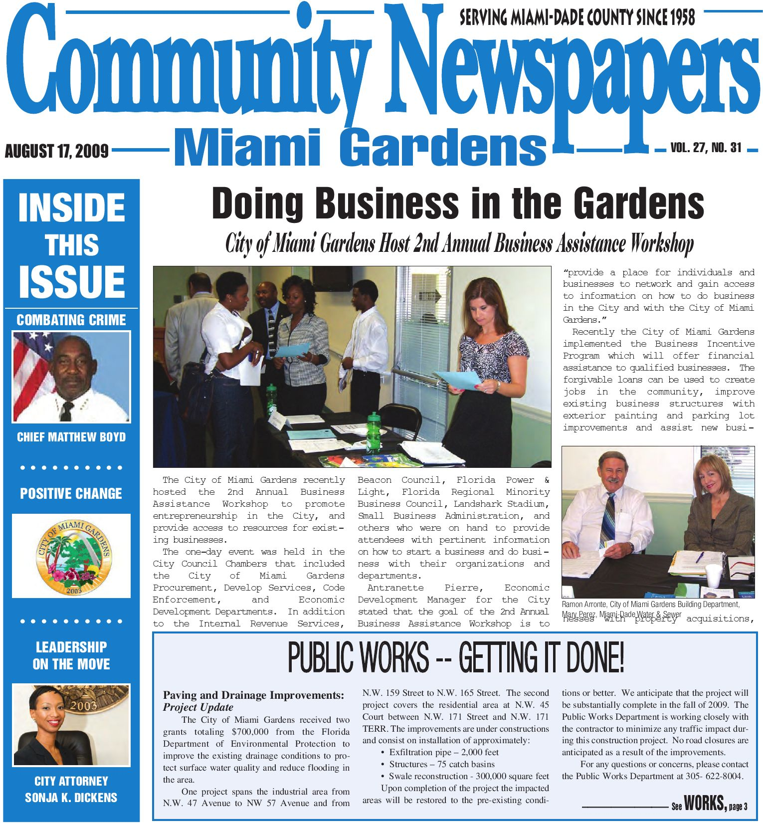Miami Gardens August 17 2009 Legal Edition Local News Multimedia Reviews Opinion By Community Newspapers Issuu