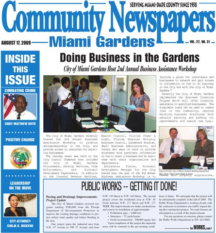 Community Newspapers Serving Miami Dade County Since 1958