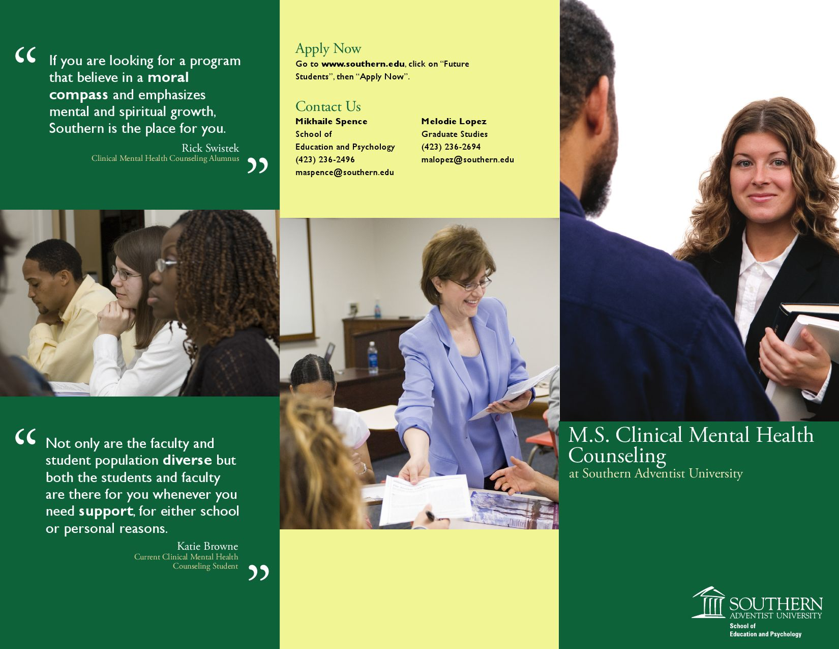 Clinical Mental Health Counseling Brochure by Ed Psych - Issuu