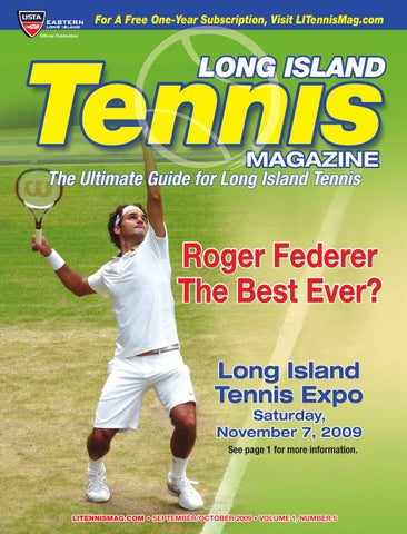Long Island Tennis Magazine - September   October 2009 by United ... 9d68350e8ab91