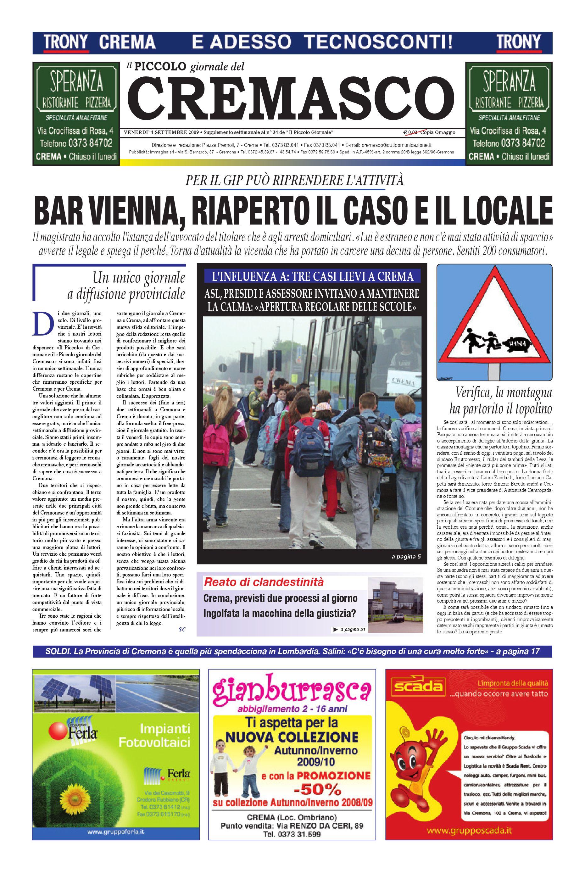 Il PIccolo del Cremasco by promedia promedia - issuu 3b4d2669f7e