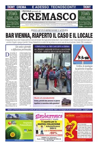 Il PIccolo del Cremasco by promedia promedia - issuu 7e6ab63dc3e57