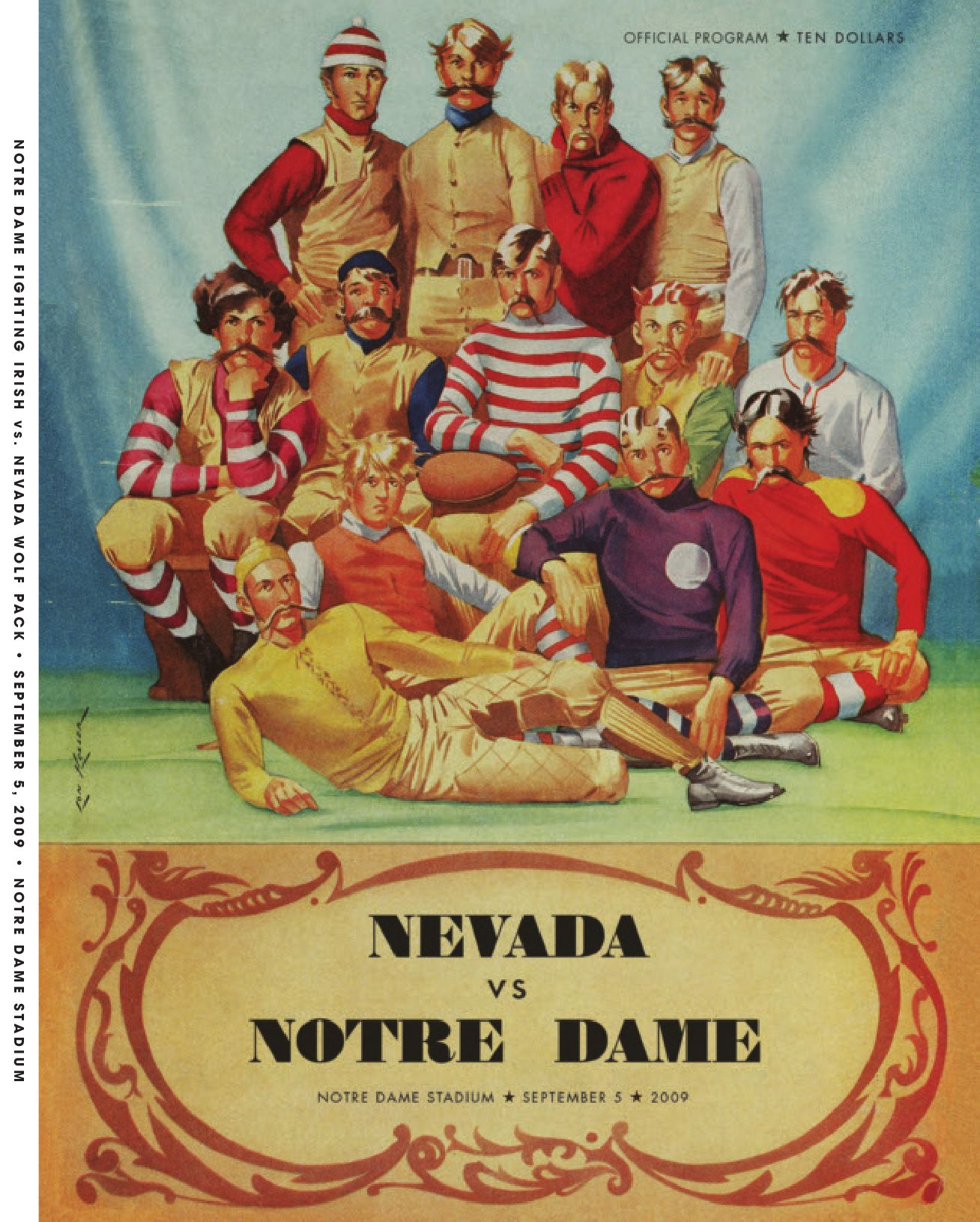 ba1315ae9f0 2009 Notre Dame Football Game Program - Sept. 5 vs. Nevada by Chris Masters  - issuu