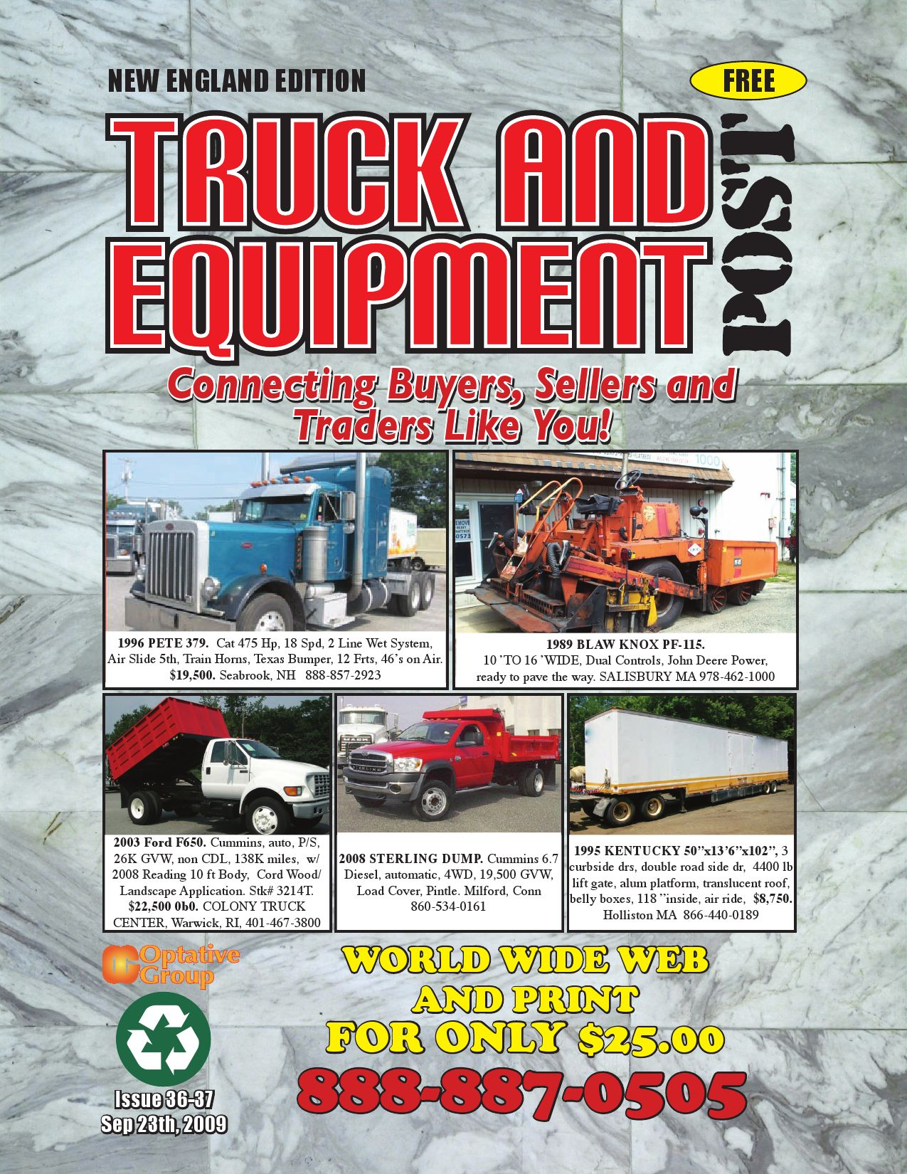 Truck And Equipment Post - Issue 36-37 by 1ClickAway - issuu