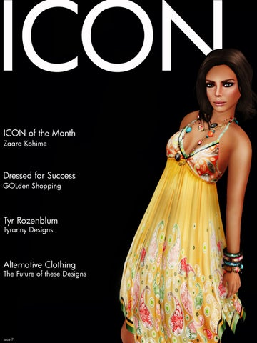 ICON Lifestyle Magazine Vol 1 Issue 7 Sept 2009