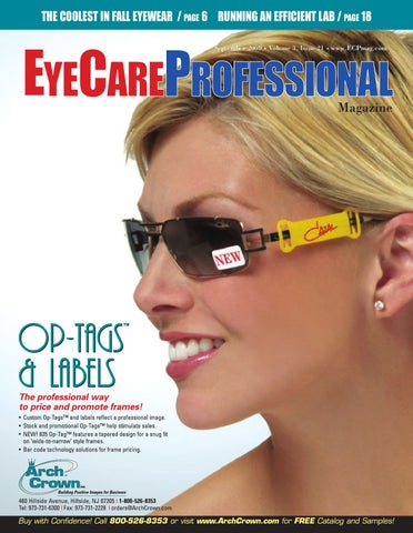 c25348b0ec EyeCare Professional - September 2009 Issue by ECP Magazine - issuu