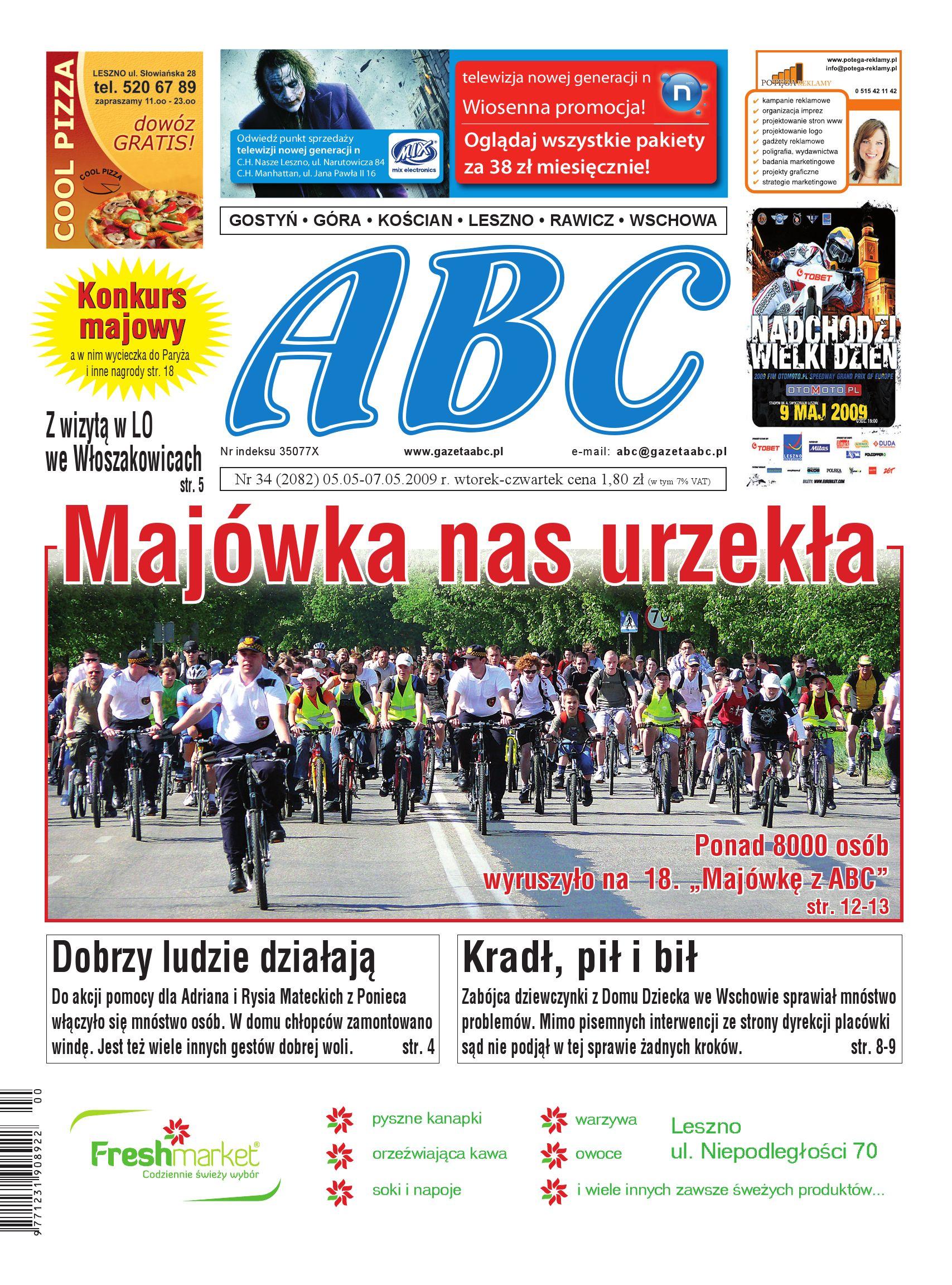 Gazeta Abc 5 Maja 2009 By Sekretarz Redakcji Issuu