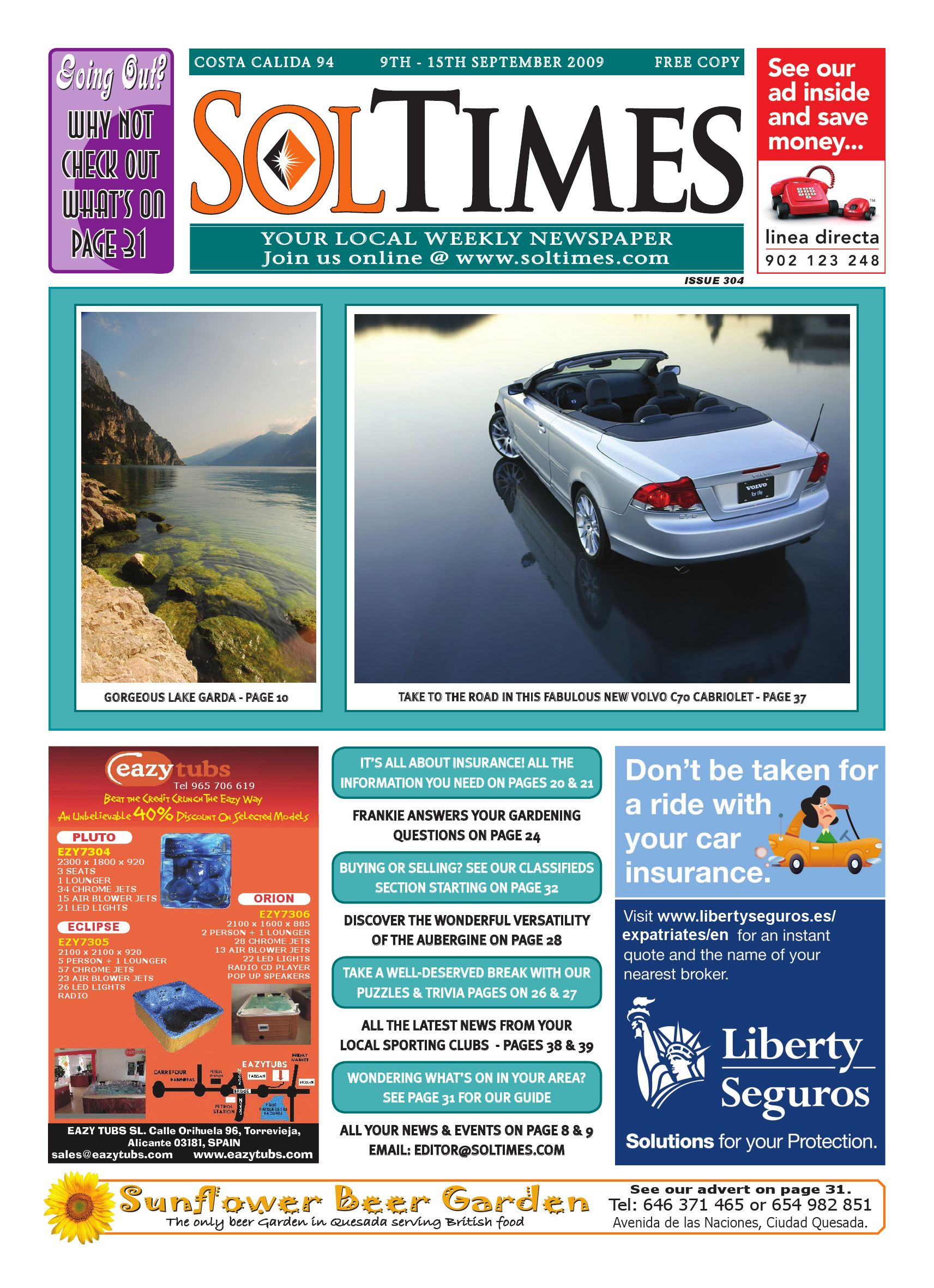 Sol Times Newspaper Issue 94 Costa Calida/Blanca Edition by ... on