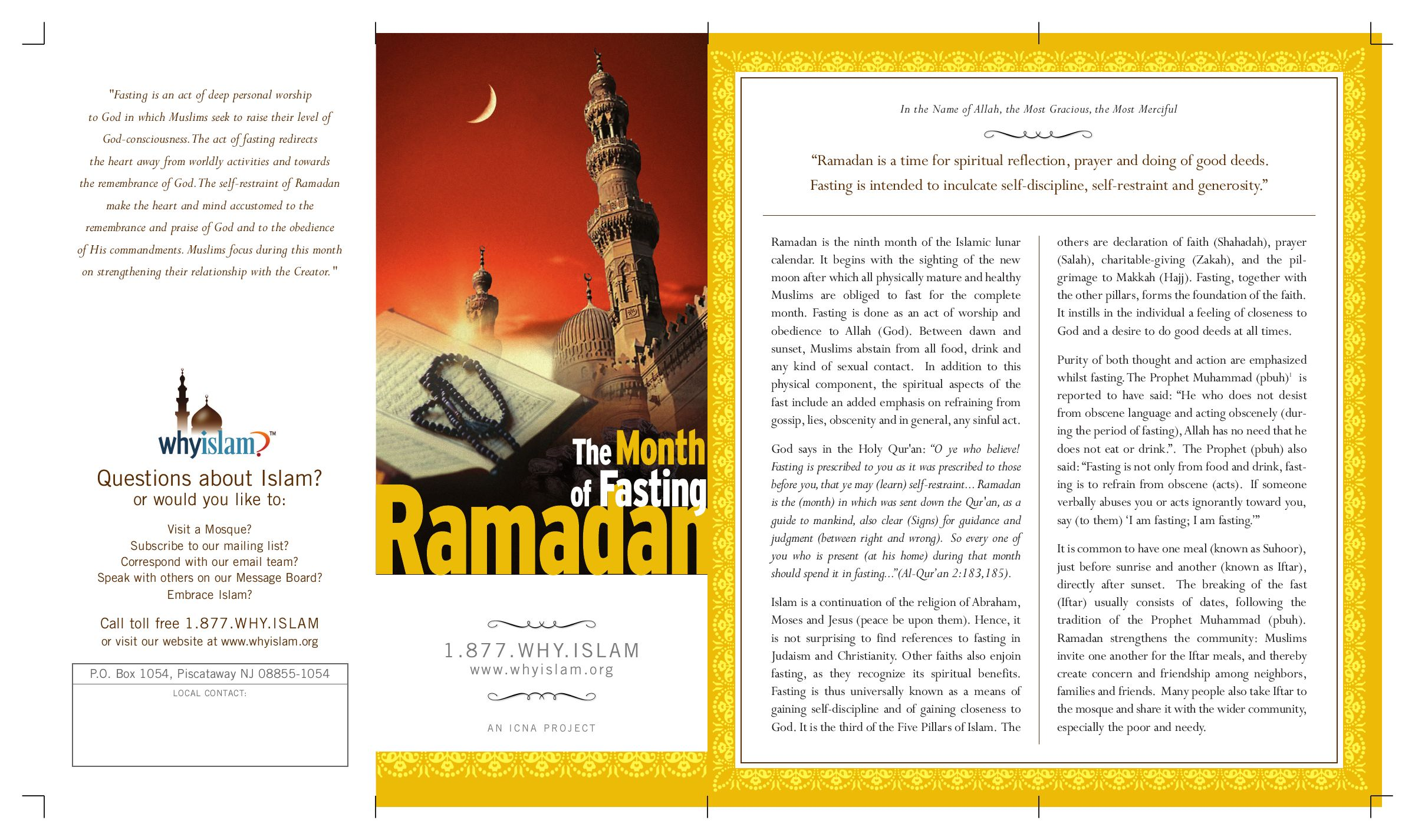 Ramadan,The Month of fasting by muhammad tanany - issuu