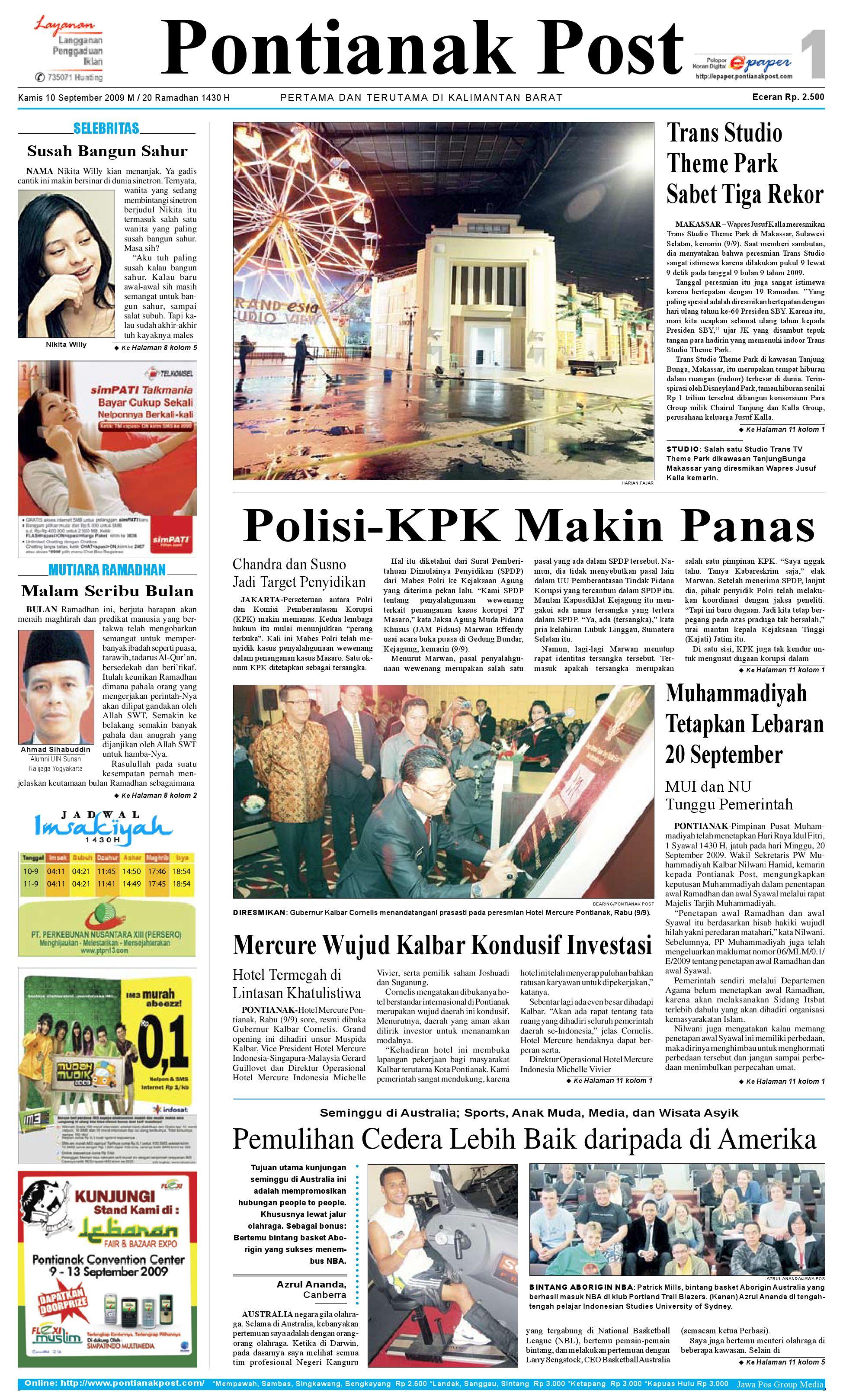 Pontianak Post By Issuu Produk Ukm Bumn Mumtaz Cane 93 Original