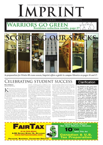 Httpimprintuwaterloomambopdfarchiveimprint2008 03 impr int the university of waterloos official student newspaper spiritdancerdesigns Images