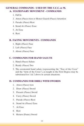 Patriotic Degree Drill Manual by Catholic Information