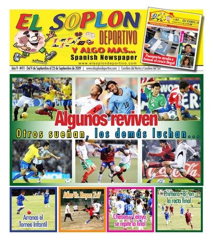 El Soplon Deportivo Edicion 411 by El Soplon Deportivo - issuu 59bffaf7e2a9f
