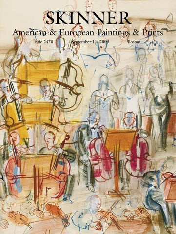 American   European Paintings   Prints   Skinner Auction 2470 by ... fabab8b607d0