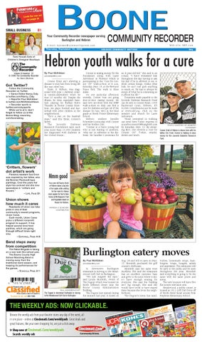 Boone Community Recorder 091009 By Enquirer Media Issuu