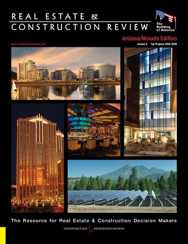 75dd6094a65e R E A L E S TAT E   CONSTRUCTION REVIEW Arizona Nevada Edition TEAM MEMBERS