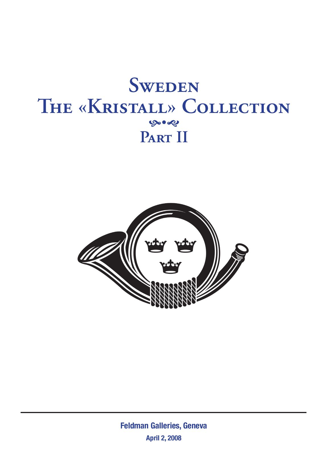 Stamps Auction Catalogue Sweden By David Feldman Issuu
