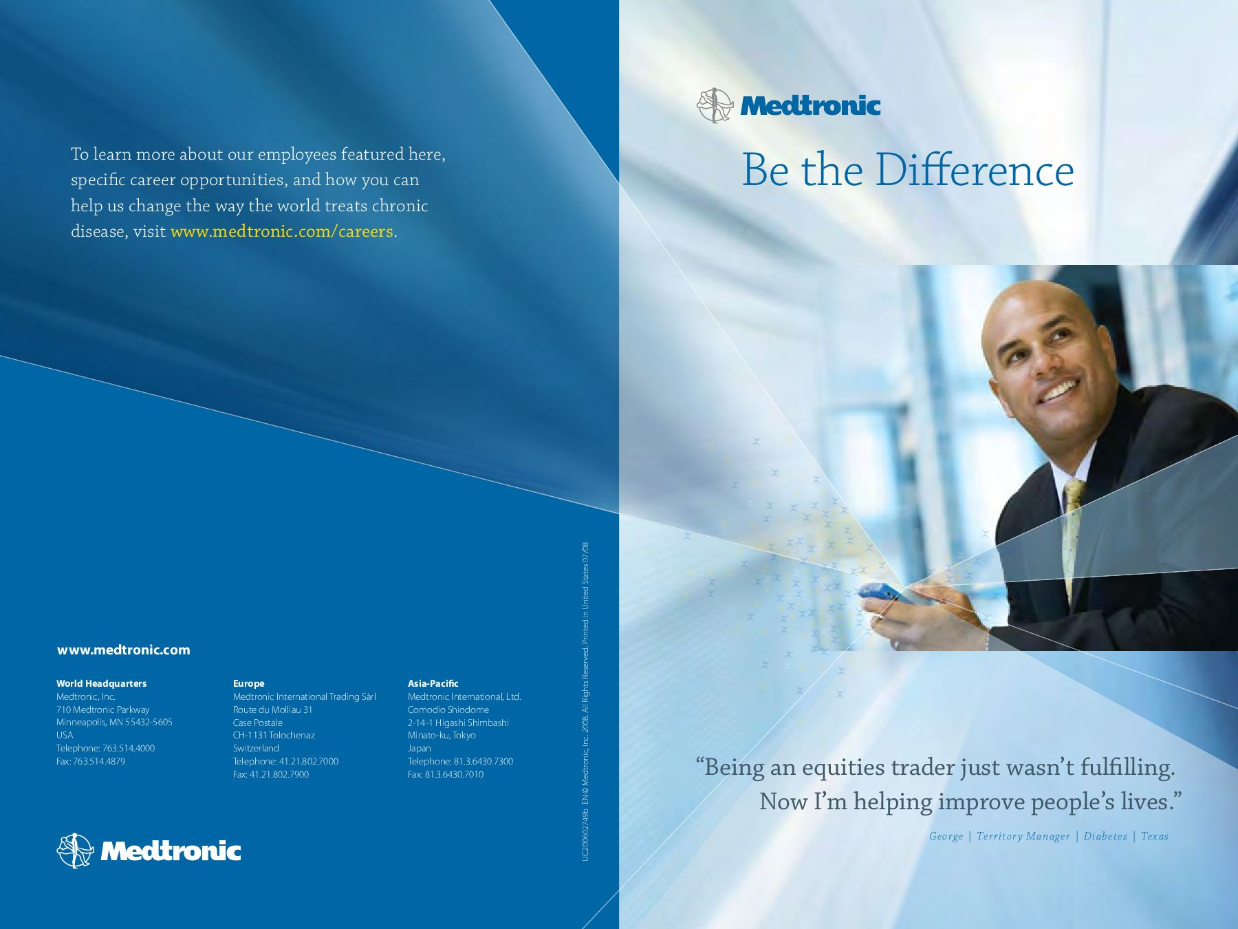 Recruiting Brochure - Be the Difference by Dirk Rients - issuu