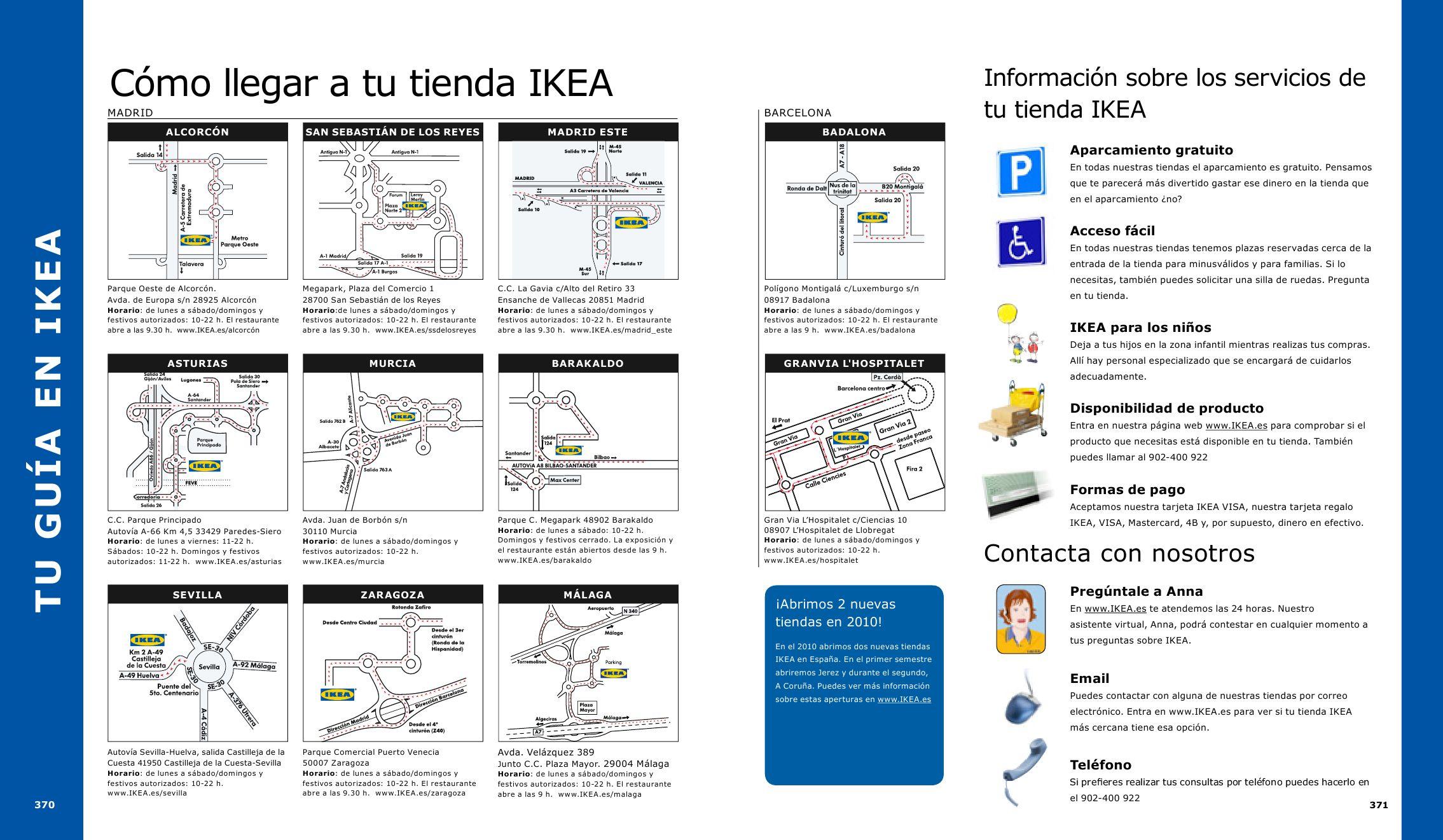 Cat logo ikea 2010 by miguelator issuu for Ikea horario festivos