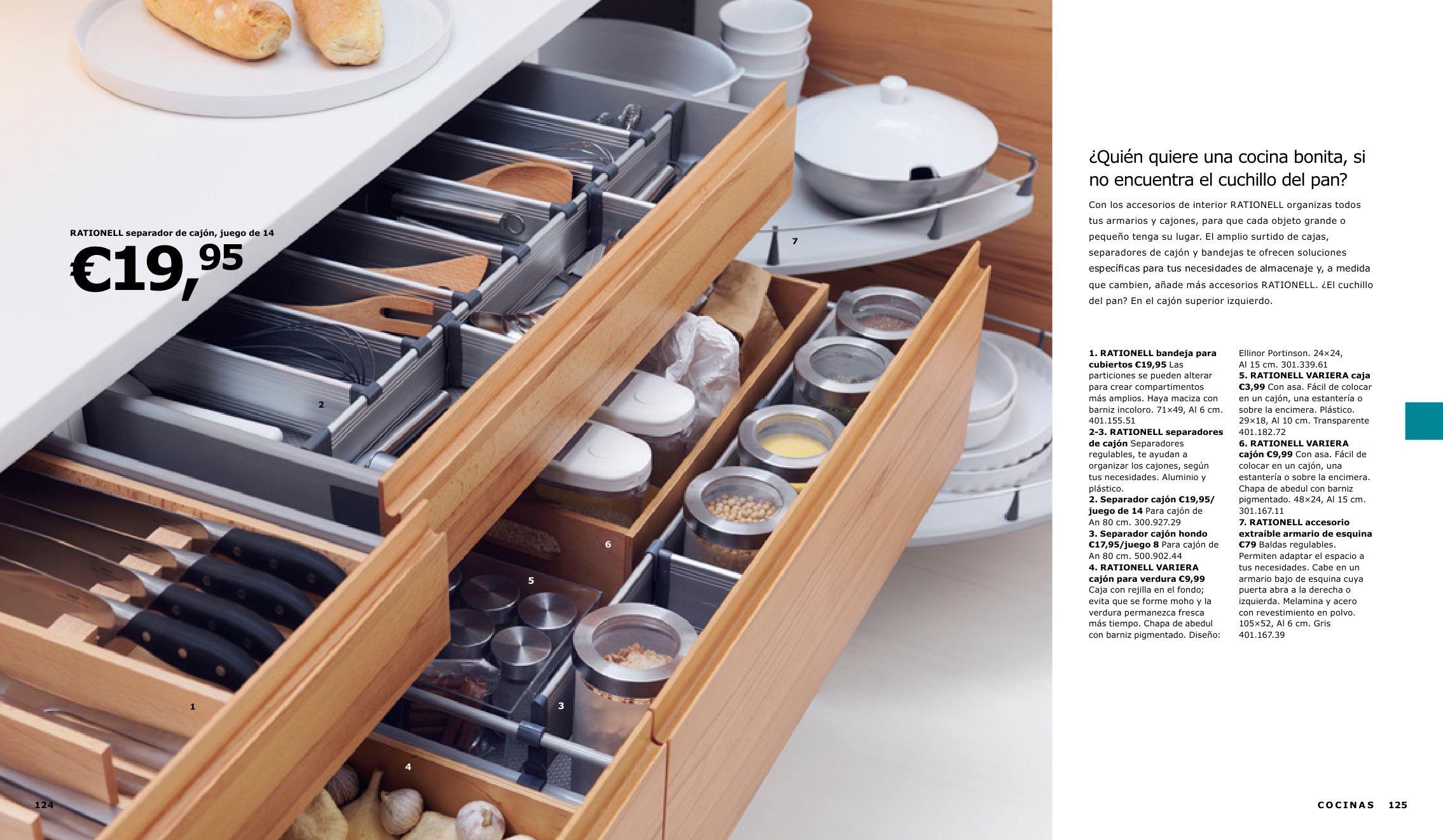 separadores de cajones de cocina interesting muebles de
