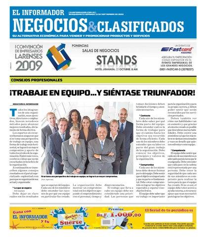 Negocios y clasificados 2009.09.13 by  El Informador Diario online   by 06bbea
