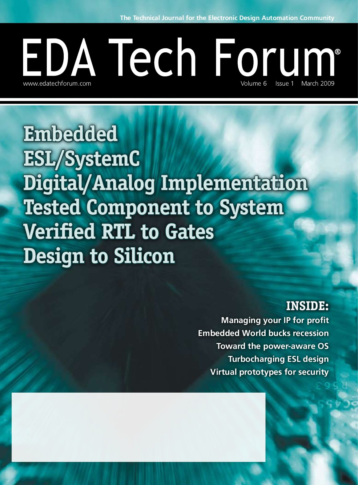 Eda Tech Forum Journal March 2009 By Rtc Media Issuu
